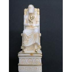 Chess Board Alabaster Set Ancient Greece Themed Chessboard 35X35